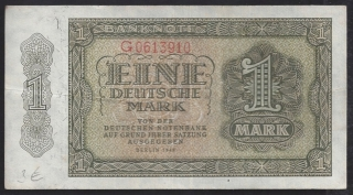 1 DEUTSCHE MARK