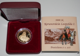 2005 - 5000 SK - Leopold I. -  PROOF