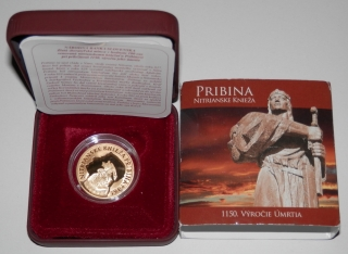 2011 - 100 Euro - Pribina -  PROOF